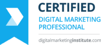 Certified Digital Marketing Professional. Digital Marketing Certification Course from Digital Marketing Institute, UK.