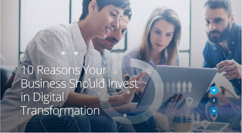 Digital Transformation Business Investment