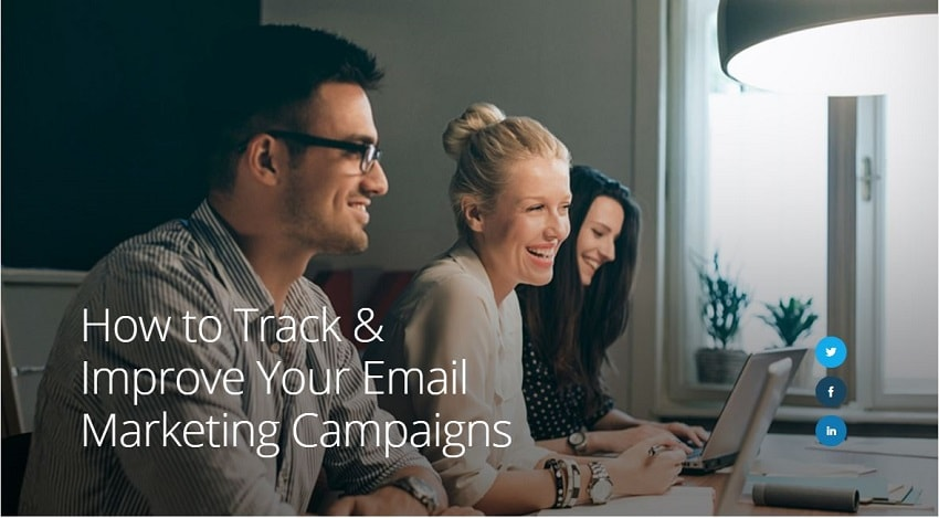 Tracking Business Email Campaign