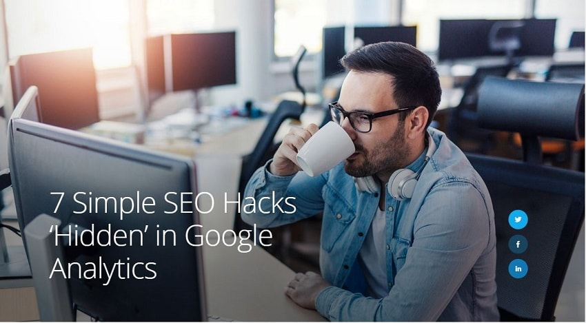 Google Analytics Hidden Hack